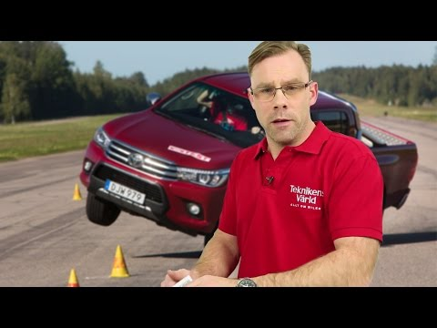 Toyota corrects the new Hilux after the moose test