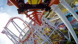 Odyssey Roller Coaster Backwards Reverse POV Fantasy Island UK