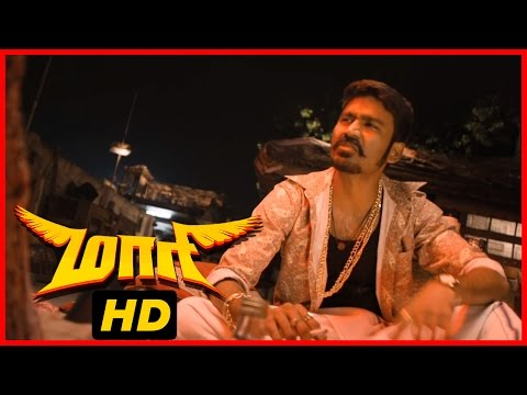 Maari Tamil Movie | Scenes | Dhanush Reveals He Is Not Killer | Kajal Aggarwal