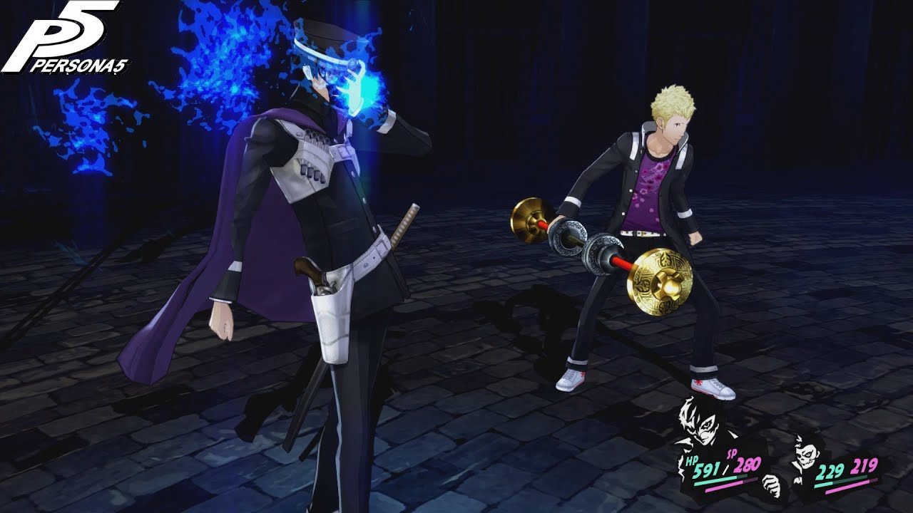 Persona 5: Clearly the Best Partner (Joker & Skull vs The Twins)
