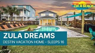 Destin Florida Vacation Rental - Zula Dreams BOOK NOW! www.ZulaBeach.com