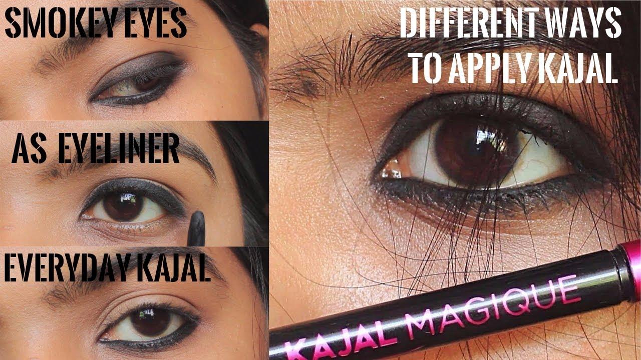 Everyday  Looks Using Kajal