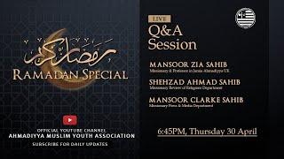 Ramadan Special (Q&A Session)