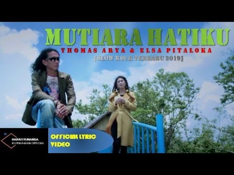 Free Download Thomas Arya & Elsa Pitaloka - Mutiara Hatiku ( Official Lyric Video ) Mp3 dan Mp4