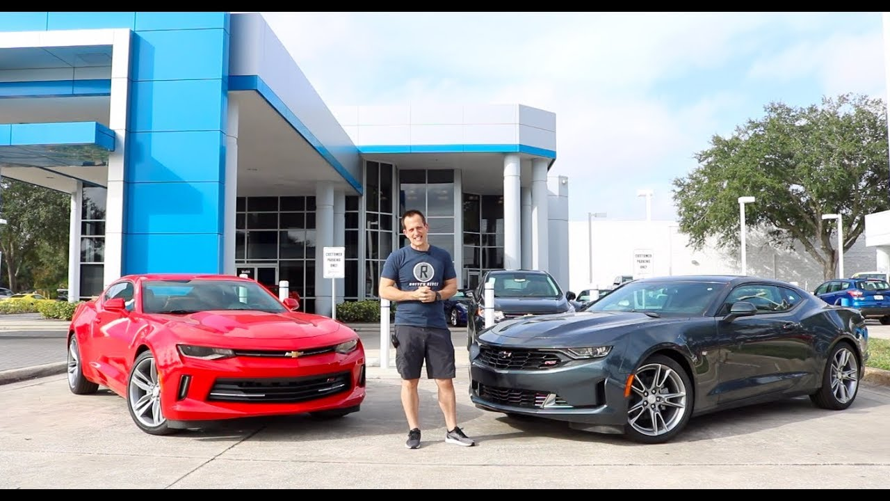 Did Chevy MESS IT UP? 2019 Chevy Camaro RS vs the 2018 ...
