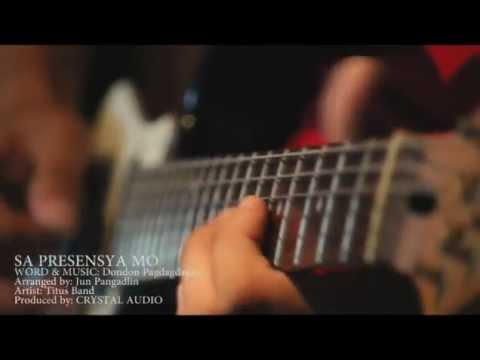 SA PRESENSYA MO by Titus Band (Recording Session)