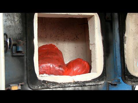 Житомир.info | Новости Житомира: В обласному протитуберкульозному диспансері показали, як спалюють медичні відходи з лікарень