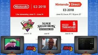 E3 Press Conference: Nintendo Direct (Jim3 2018)