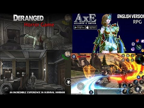 ¦¦Drengad Horror game offline & AXE Allience:Empire Rpg(english)online game  on android /Ios (2019)