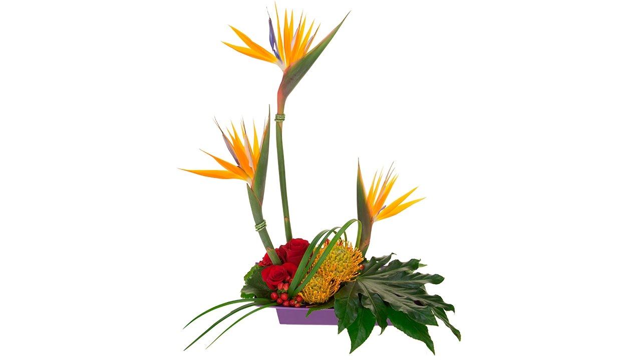 formal linear floral design