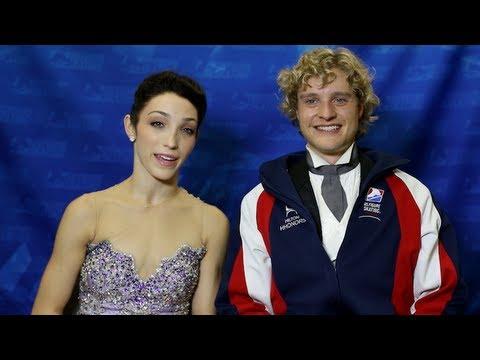 Marissa Castelli & Simon Schnapir - 2014 US Nationals Exhibition - Royals from YouTube · Duration:  3 minutes 15 seconds