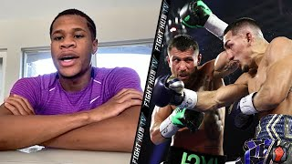 "DEVIN HANEY REACTS TO LOMA LOPEZ ""DONT MAKE AN EXCUSE CAUSE YOU LOST"" TALKS TEOFIMO FACETIME CALL"