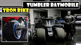 Tumbler Batmobile & Tron Bike, sale by luxury dealership in Dubai