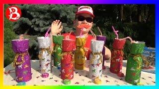 СОК ЧЕЛЛЕНДЖ Угадай Вкус Сока! Челлендж в ГРОЗУ!  Kid's JUICE Challenge