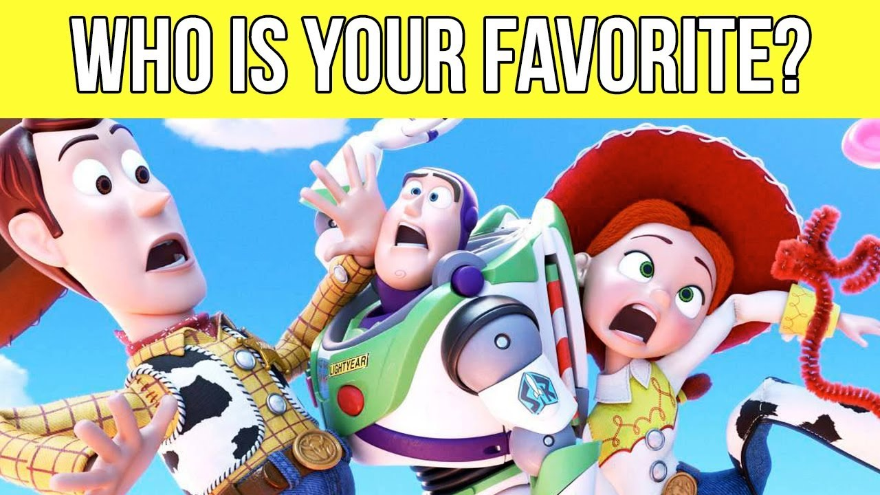 The Best TOY STORY CHARACTERS   Who Is Your Favorite Character?
