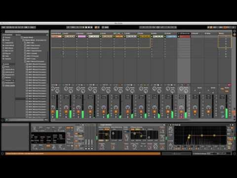 Producing Techno 40 min. (Ableton Live 9)