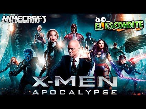 X-MEN APOCALIPSIS LA PELICULA | Minecraft (El Escondite)