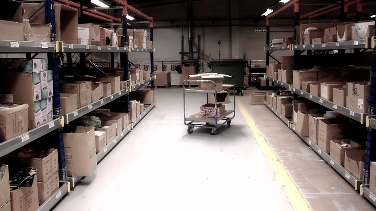 k store warehouse management and picking system youtube
