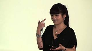 Life lessons I learned from boy bands, not school: Alyson Hau at TEDxHKUST