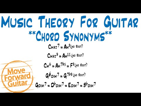 Music Theory for Guitar - Chord Synonyms