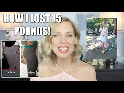 HOW I LOST WEIGHT! Weight Loss Over 40 | What I Ate