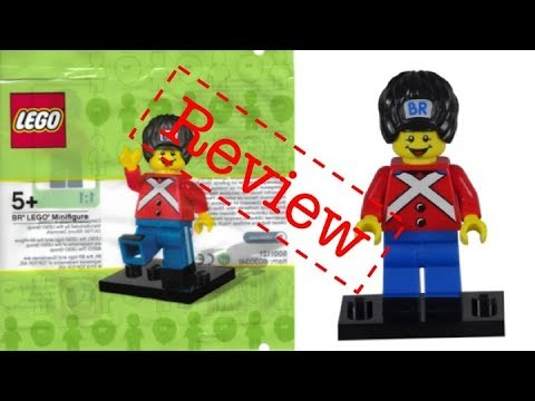 BR LEGO Minifigure Polybag 5001121 Review