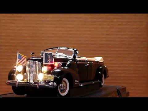 1938 Cadillac Presidential Car