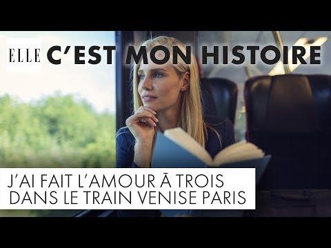 J'ai fait l'amour à trois dans le train Venise-Paris