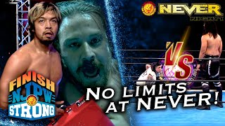 Rocky Romero is ready for war with Jay White! |Finish STRONG