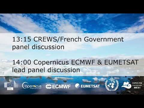 EUMETSAT: Open data and local capacities to support the global response to climate change