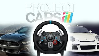 Project Cars gameplay | Logitech G29