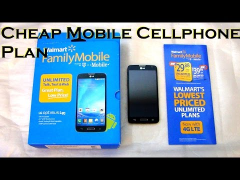 Cheap Mobile Cellphone Plan (US) with LG L90 Android Phone