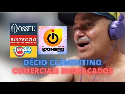 COMERCIAIS ENGRAÇADOS DO DÉCIO CLEMENTINO OSSEL JUNDIÁ BISTECÃO