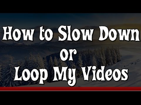 VLC Media Player - How To Slow Down & Loop Video