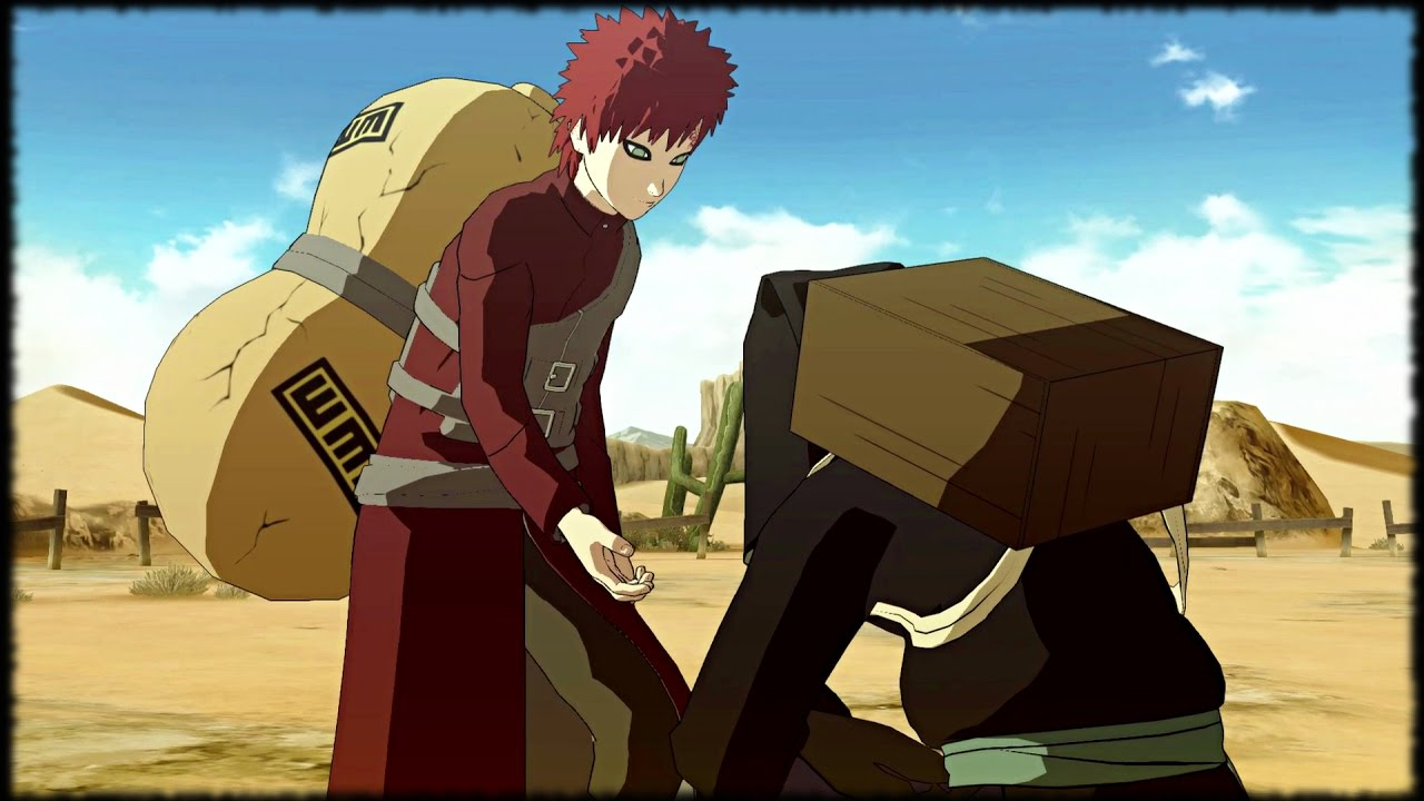 Kankuro Apologizes to Gaara - Bonds between brothers ... Gaara And Kankuro Brothers