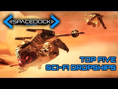 Top Five Sci-Fi Dropships