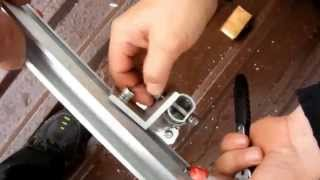 Монтаж солнечных фотоэлектрических панелей. Крепление с регулируемым углом наклона (vitasvet.ru)(, 2014-09-03T06:22:35.000Z)