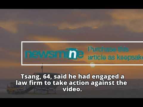 Eric Tsang denounces a Yammie Lam rape  video as fake