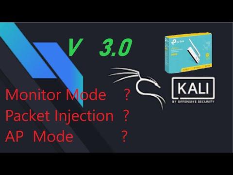TP-LINK WN722N V 3.O/V2.0  [ kali ] enable AP mode + monitor mode + Packet injection