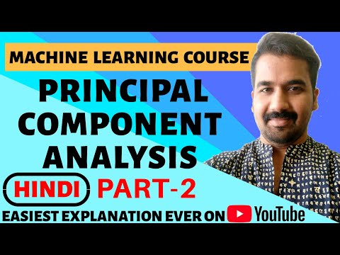 Principal Component Analysis(PCA) Explained with Solved Example in Hindi ll Machine Learning Course
