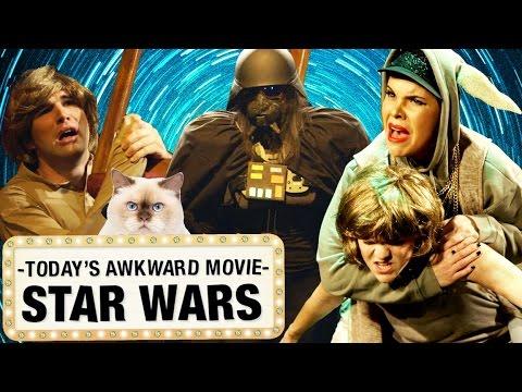AWKWARD STAR WARS PARODY