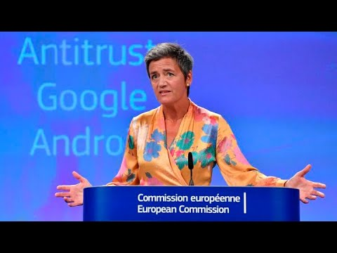 European Union fines Google $1.7B for antitrust violation