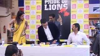Book Launch of Pride Of Lions By Vinod S. Nair - 1