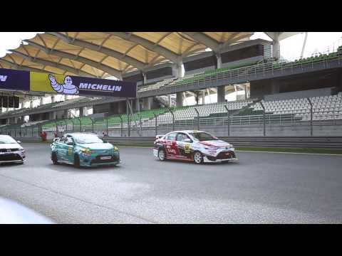 Toyota VIOS One make race SEPANG