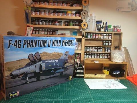 Full Inbox Review For Revell F-4G 1:32 Wild Weasel