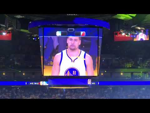 2017 NBA Playoffs: Golden State Warriors vs Portland Trail Blazers Game 2
