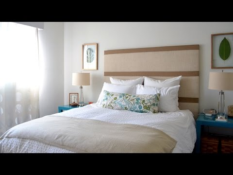 Bedroom decorating ideas diy headboard and lots more for Bedroom designs youtube