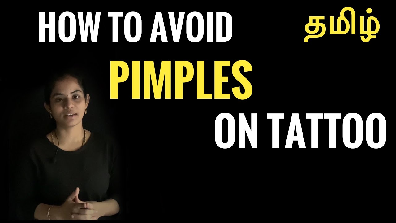 How to avoid Tattoo Pimples? Tamil | Ep- 89 | Ft.Meens Machu