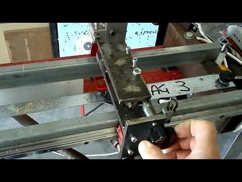 Tornio per legno tot parte 1 doovi for Copiatore per tornio legno autocostruito