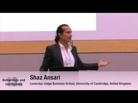 "Shaz Ansari: ""A Study of Open Access Academic Publishing"""